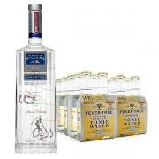 Martin Miller's Gin and Fever-tree Premium Indian Tonic Water Set