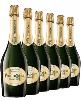 Champagne Perrier-Jouët Grand Brut NV x 6 bottles