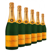 Veuve Clicquot Yellow Label Brut NV x 6 bottles